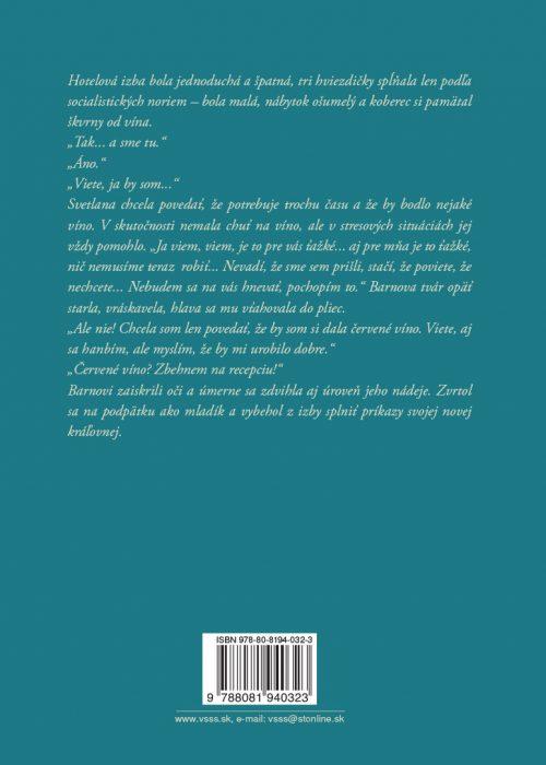 Kľukatenie poviedky a novela - zadná strana